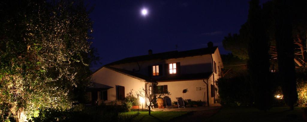 Agriturismo peretti di notte - Un agriturismo romantico