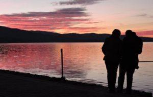 agriturismo romantico tramonto orbetello