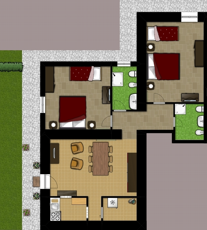 Planimetria appartamento Il Dieci