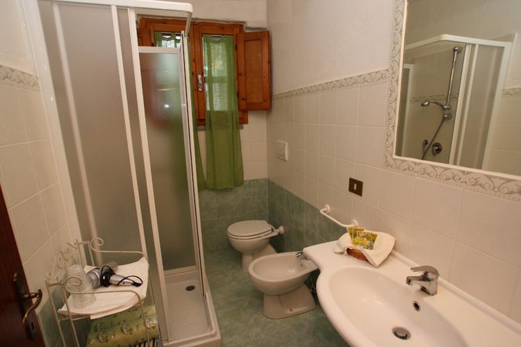 Bagno 1 appartamento Il Dieci