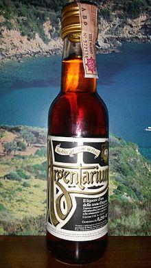 Il famoso liquore argentarium  da bere in soggiorno all'argentario