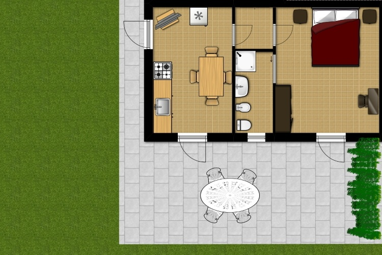Planimetria appartamento 7 k
